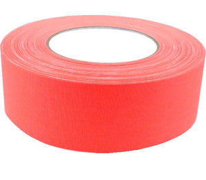 "2"" x 50 YARDS FULL ROLL GAFFERS TAPE - FLORESCENT COLORS - AMERICAN RECORDER TECHNOLOGIES, INC. - 1"