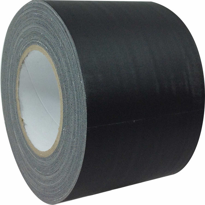 "AMERICAN RECORDER 4"" x 45 YARDS FULL ROLL GAFFERS TAPE - BLACK"
