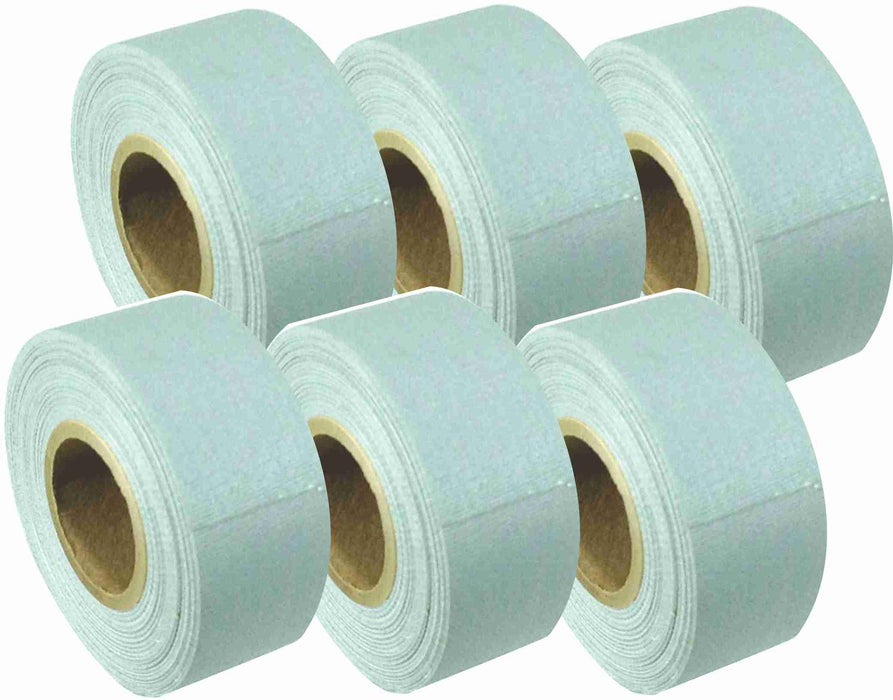 "1"" x 8 YARDS MINI ROLL GAFFERS TAPE - GRAY - 6 Packs"