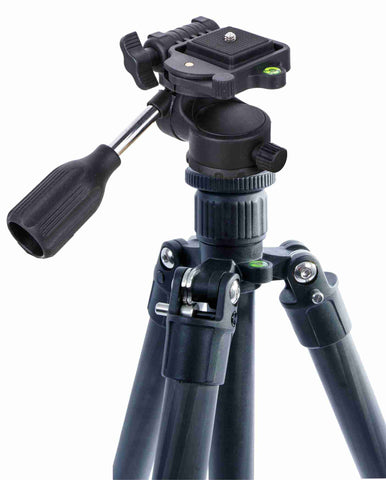 "58"" Carbon Fiber Tripod with Universal ABS Panhead - AMERICAN RECORDER TECHNOLOGIES, INC. - 1"