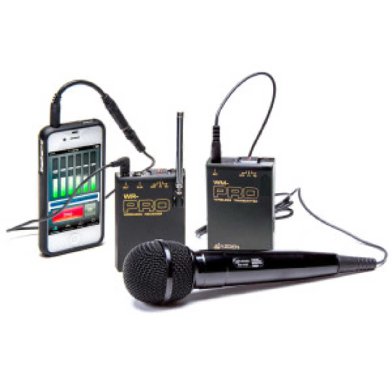 wireless microphone system american recorder technologies inc. Black Bedroom Furniture Sets. Home Design Ideas