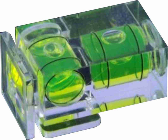 Zumm Photo 2 axis Spirit Level for Standard Shoe