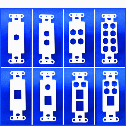 Decorator Style Wall Plates - Empty - AMERICAN RECORDER TECHNOLOGIES, INC. - 1