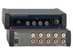 Stereo Audio Input Switcher - 4X1 - AMERICAN RECORDER TECHNOLOGIES, INC. - 1