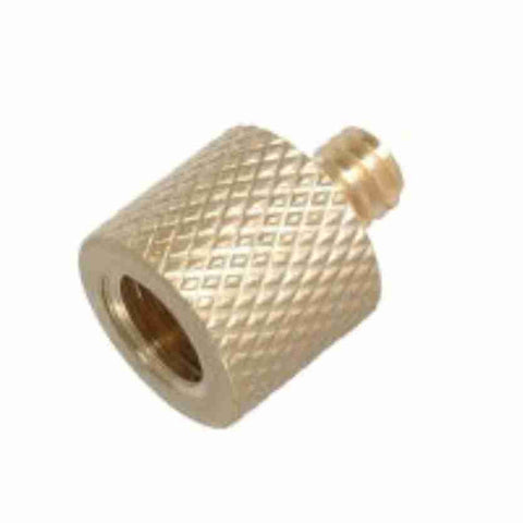 3/8 Female to 1/4x20 Male Brass Adapter