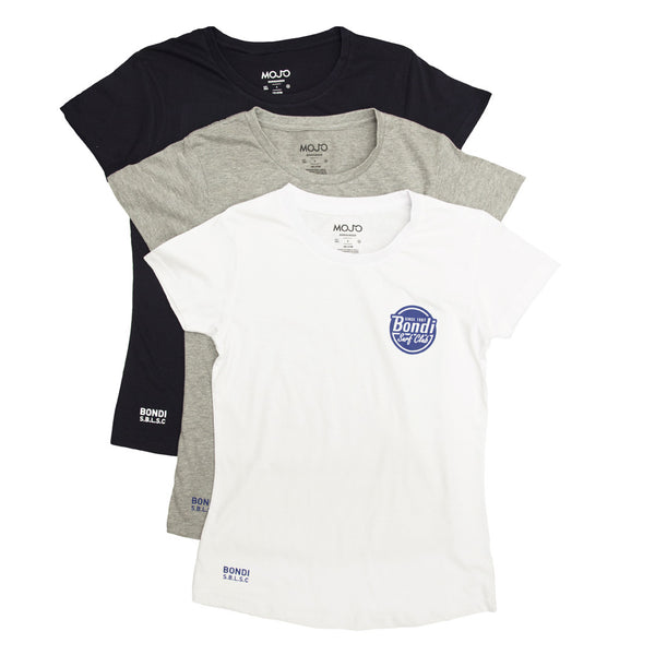 Ladies Bondi Surf Basic T Shirt