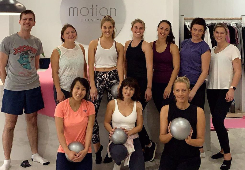 MORNING PILATES AT MOTION