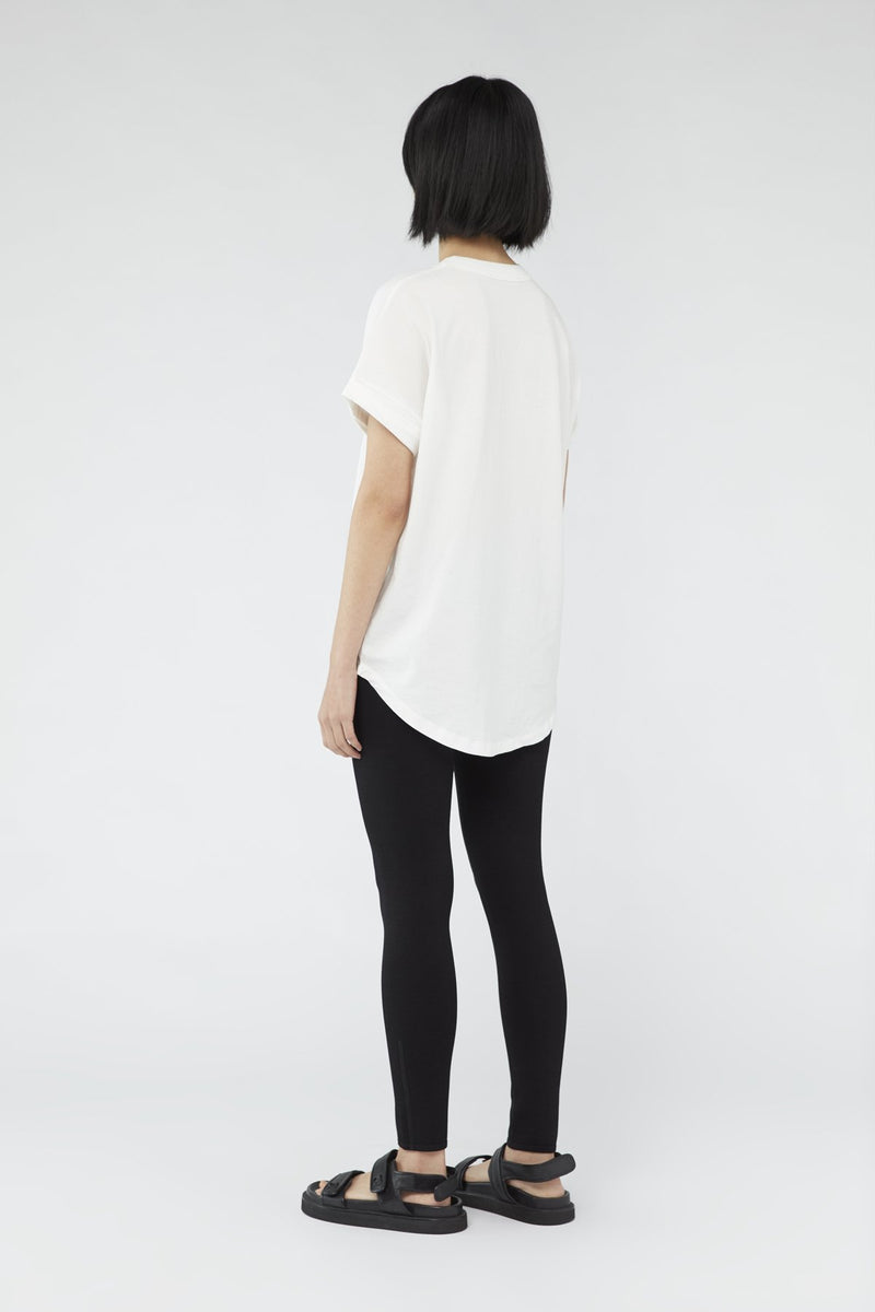 C&M Camilla and Marc Huntington Tee 2.0 White with Black
