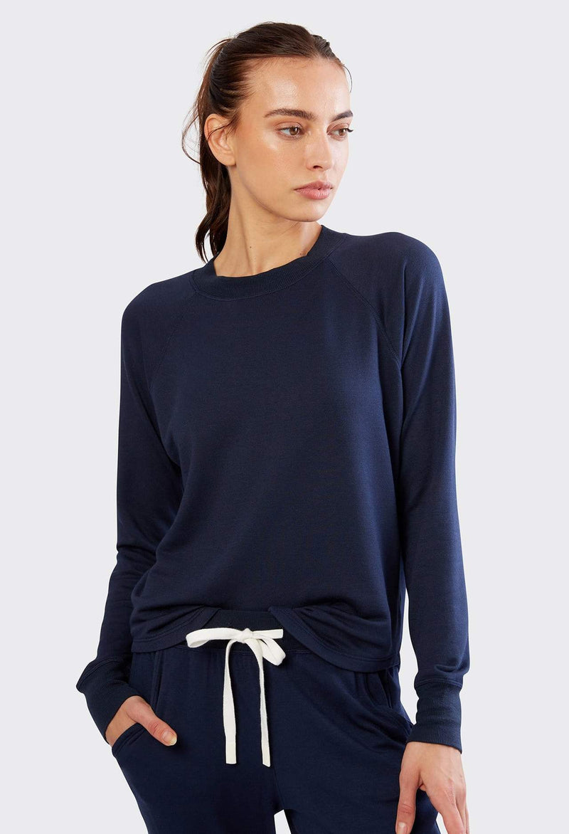 Splits 59 Warm Up Pullover Indigo