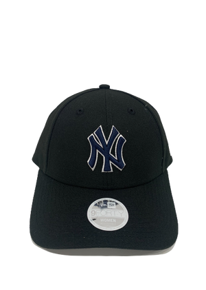 New Era  W940 NY Black with Navy Logo