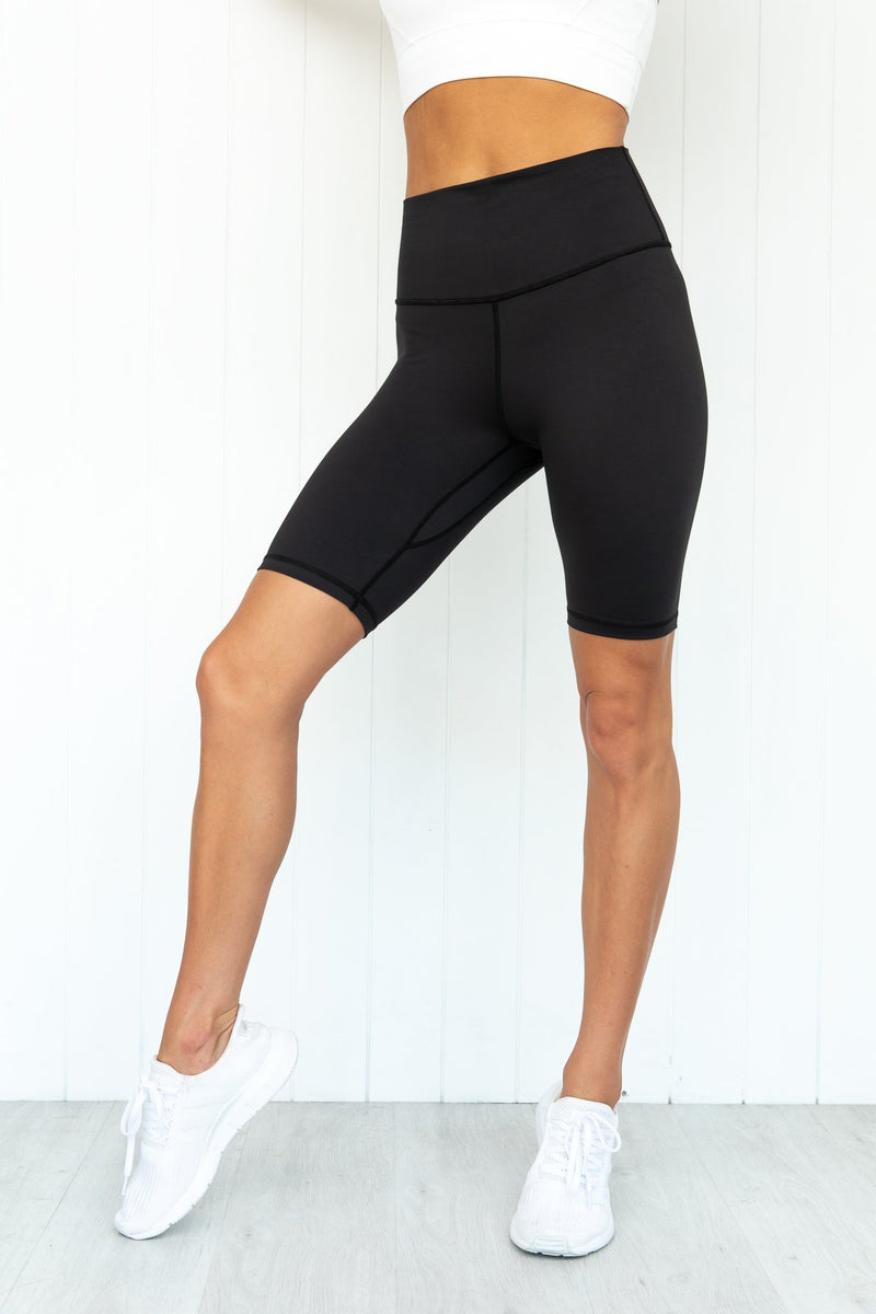 Pure Dash Panther High Rise Bike Short Black