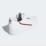 adidas Continental 80 White Scarlett and Navy