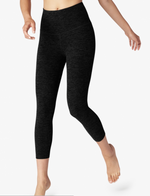 Beyond Yoga High Waist Capri Darkest Night
