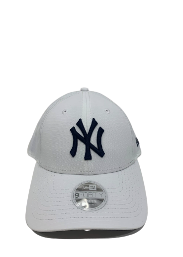 New Era 940CS  White/Navy NY