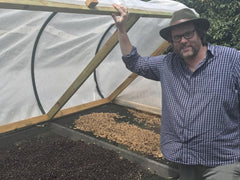Green Lane Coffee Drying Beds