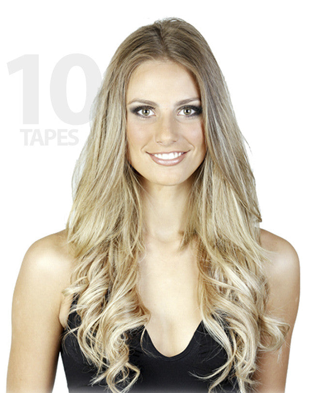 Hb Tape Extensions 10 Pack Hollywood Bombshell