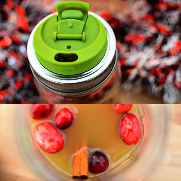 jarware spiced cider fruit infusion lid