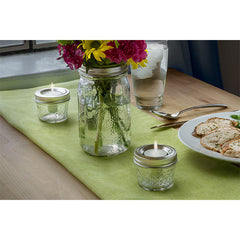 Jarware Tealight Holder - Mason Jar Accessory - Photo