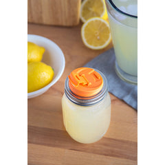 Jarware Drink Lid - Mason Jar Accessory - Photo