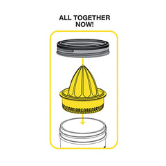 Jarware Juicer - Mason Jar Accessory - Illustration 2