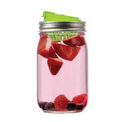 Jarware Fruit Infusion Lid - Mason Jar Accessory