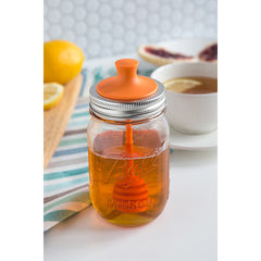 Jarware Honey Dipper - Mason Jar Accessory - Photo
