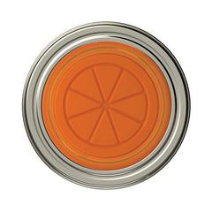 Jarware Orange Jelly/Jam Lid - Mason Jar Canning Accessory - Top View
