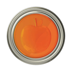 Jarware Peach Jelly/Jam Lid - Mason Jar Canning Accessory - Top View