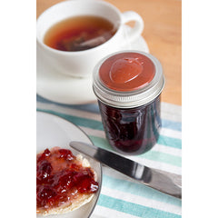 Jarware Strawberry Jelly/Jam Lid - Mason Jar Canning Accessory  - Photo
