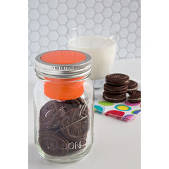 Jarware Regular Mouth Snack Pack - Mason Jar Canning Accessory - Photo