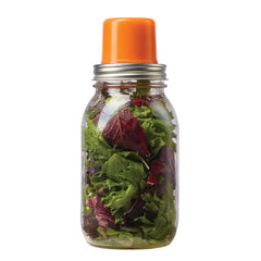 Jarware Regular Mouth Snack Pack - Mason Jar Canning Accessory - Salad