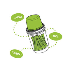 Jarware Wide Mouth Snack Pack - Mason Jar Accessory - Illustration