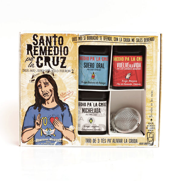 "KIT DE TES ""SANTO REMEDIO PA' LA CRUZ"""