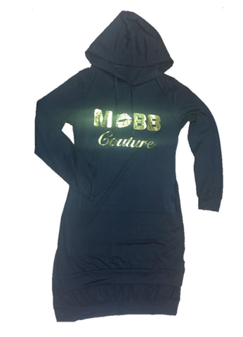 MOBB Extended Hoodie Dress