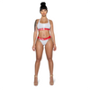 "Zipped ""Gym Red Sport Set"" Top"