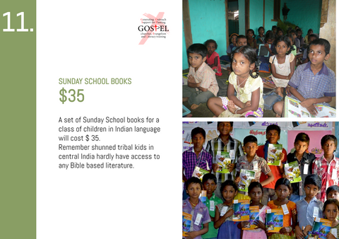 CC20 - #11 - Sunday School Books