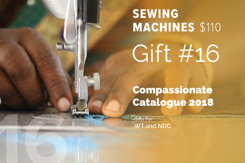 CC18 - #16 - Sewing Machines
