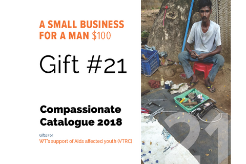CC18 - #21 - A Small Business for a Man