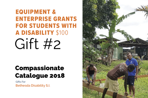 CC18 - #02 - Equipment & Enterprise Grants for Students with a Disability