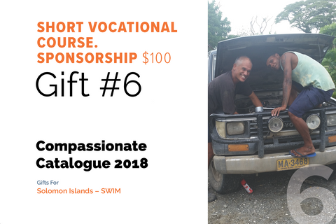 CC18 - #06 - Short Vocational Course Sponsorship