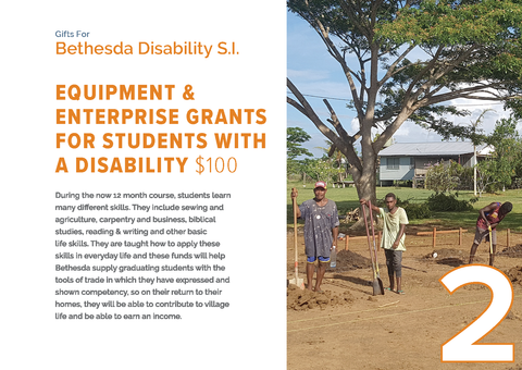CC19 - #02 - Equipment & Enterprise Grants for Students with a Disability