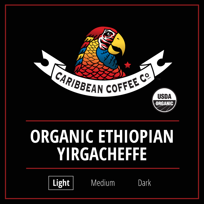 Organic Ethiopia Yirgacheffe (single origin)