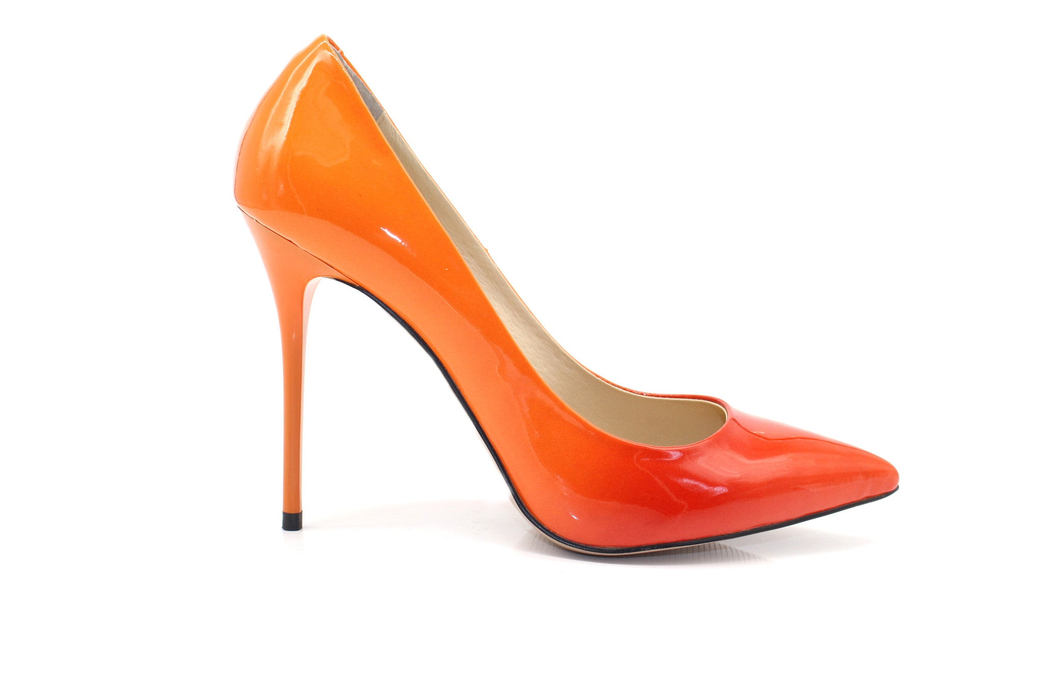 1d28b99e75 Stylish Shoes - Ombre Orange High Heels - Angelina Voloshina - AV Heels - 1  ...