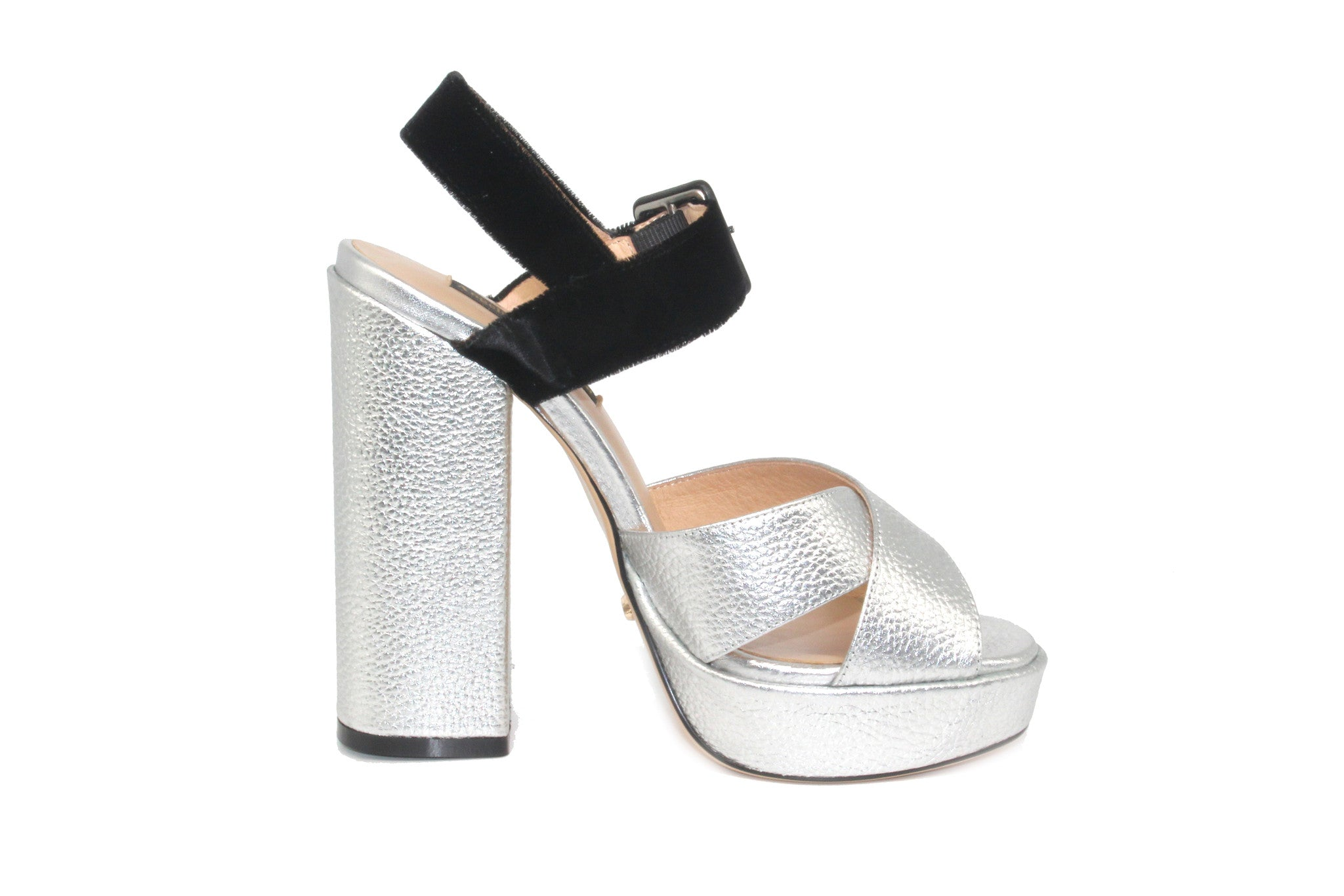 Silver Metallic High Heels - Angelina Voloshina - AVHEELS 003c352a543d