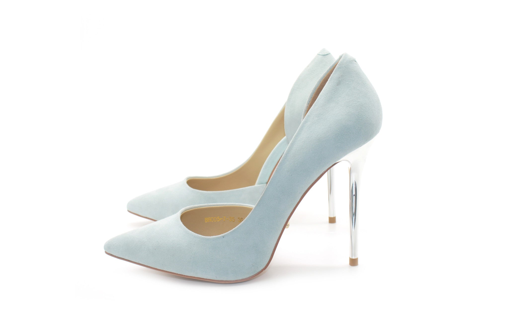 Silver Shoes 4 Inch Heels