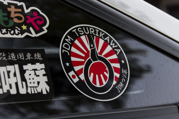 Sticker JDM Tsurikawa logo version