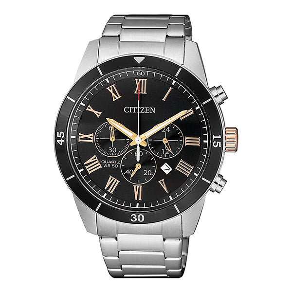 Citizen Gnts Quartz Brlt SSWP WR50