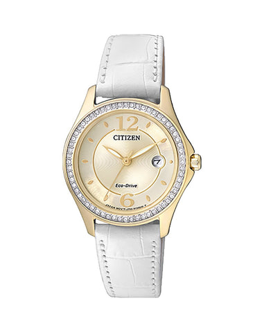 Citizen Ladies Eco-Drive Metal Strap Watch FE1142-05P