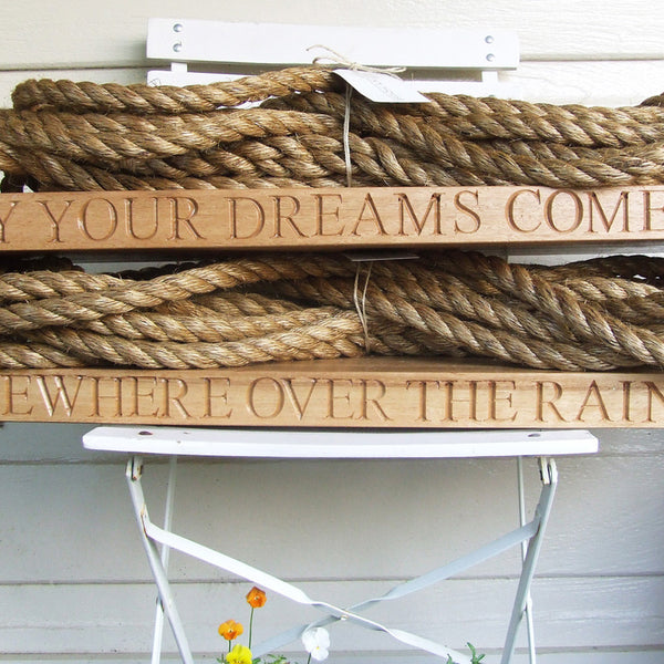 Personalised Wooden Swing Your Dreams Come True