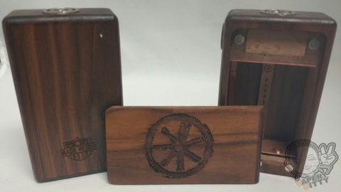 asMODus Woody Dual 26650 Wooden Mechanical Mod